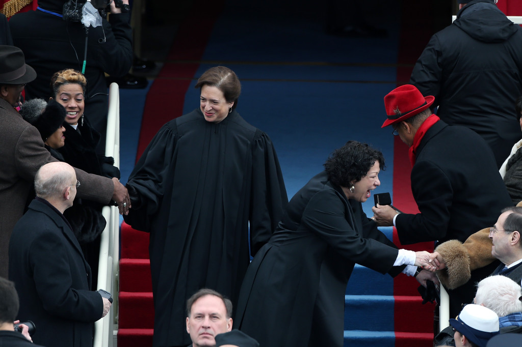 Barack Obama Sworn In As U.S. President For A Second Term