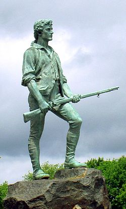 The Lexington Minuteman
