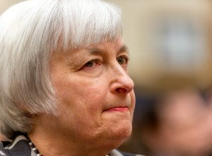 Janet Yellen makes her first appearance before Congress as the chair of the Federal Reserve