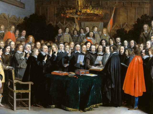 The Ratification of the Treaty at Münster in Westphalia