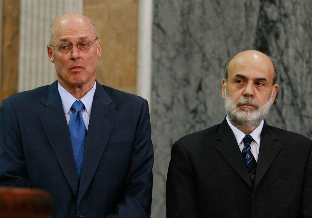 Paulson, Bernanke, And FDIC Chairman Make Statement On Financial Markets