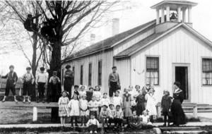 School House, Clarke County, MI