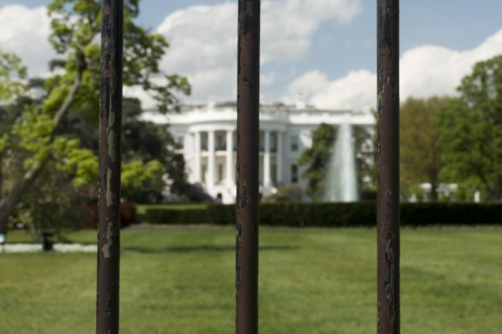 White House Wasghington DC view