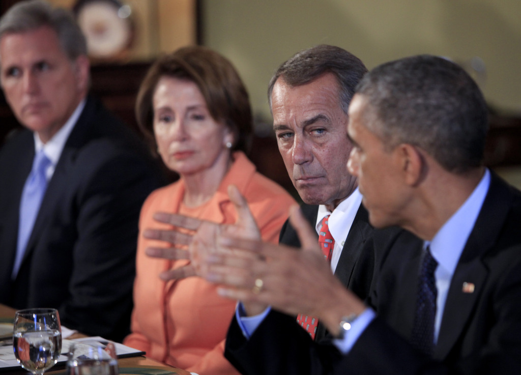 President Obama Hosts Congressional Leaders For Lunch Meeting