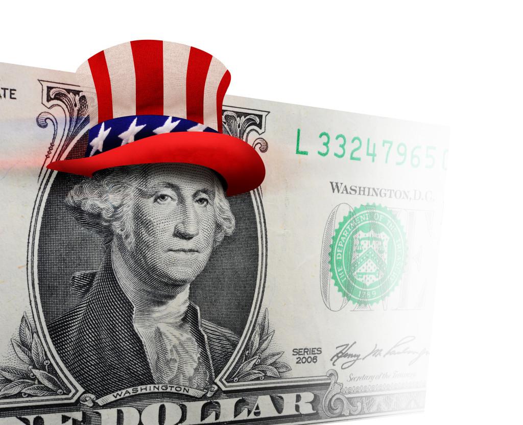 George Washington ready to party.