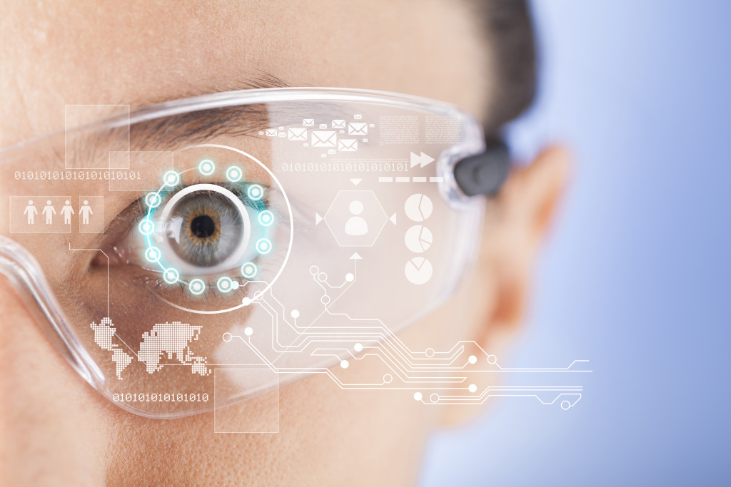 Futuristic smart glasses